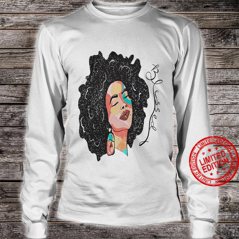 Blessed Queen Shirt long sleeved