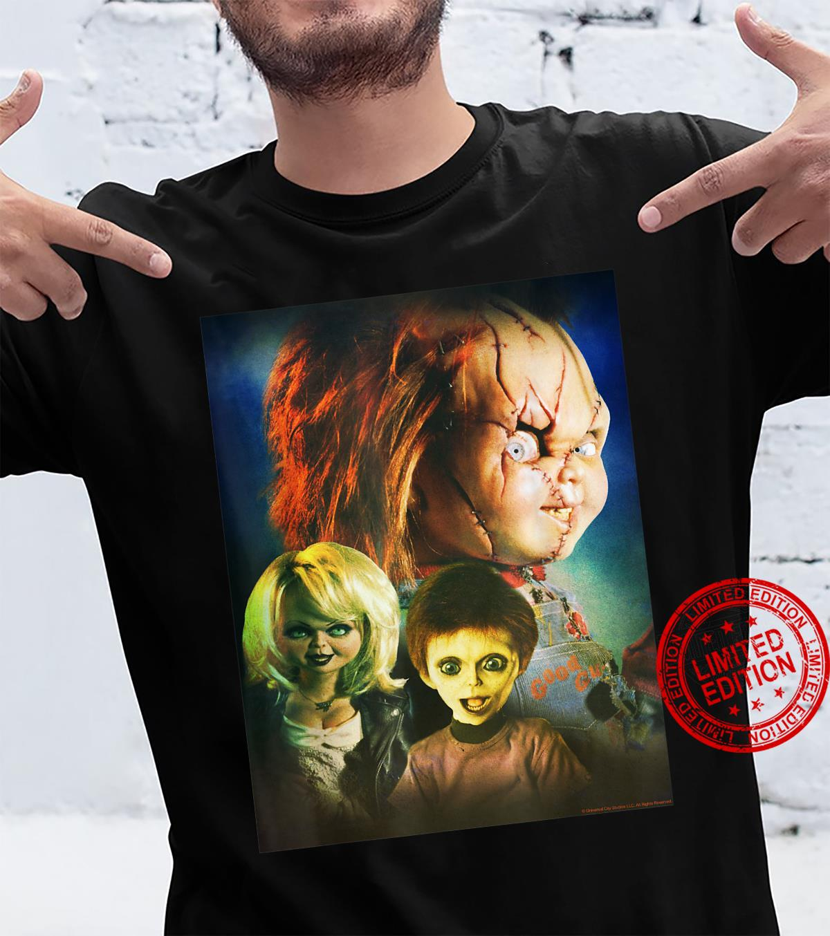 Child's Play Family Photo Poster Shirt