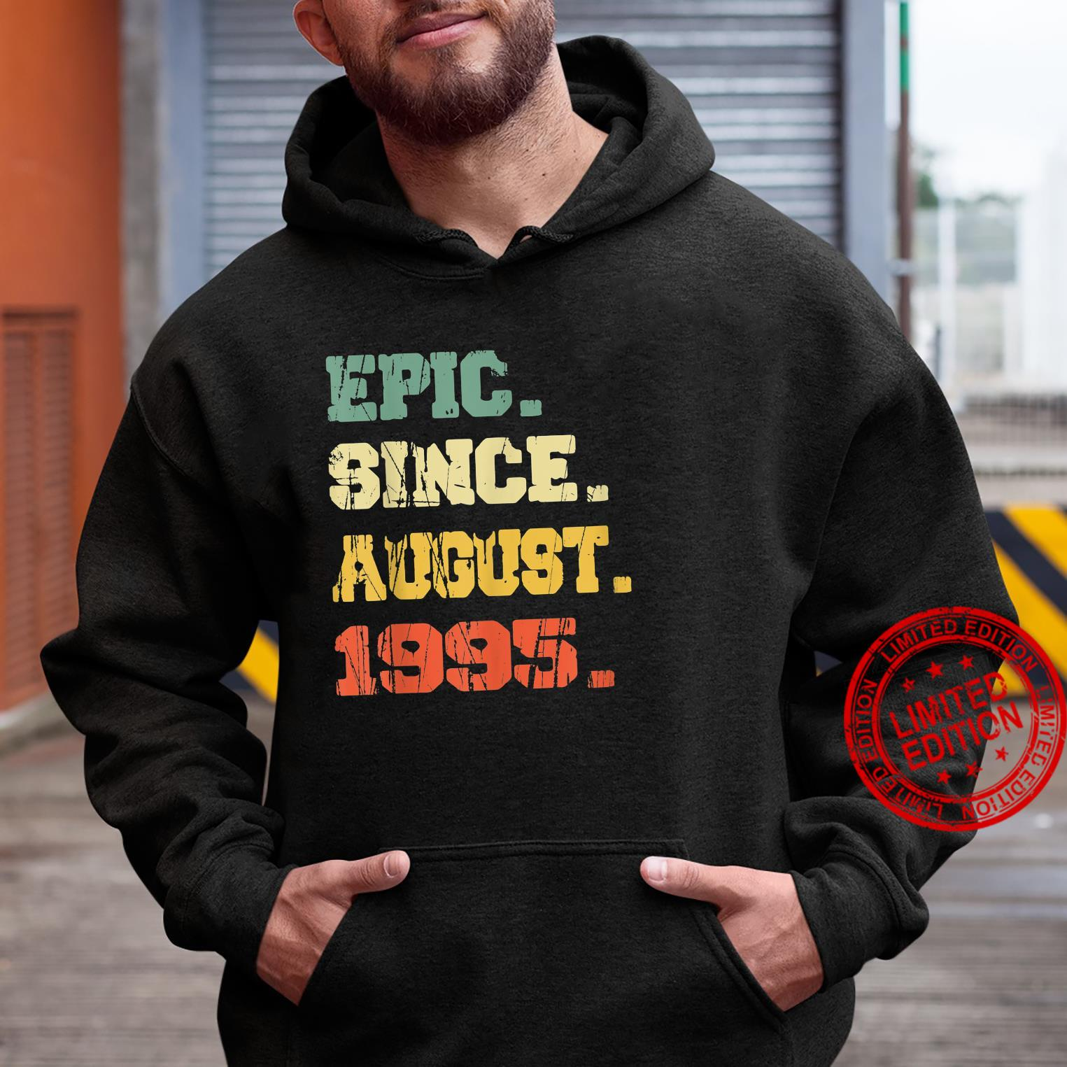 Funny 26 Years Old Shirt Vintage Epic Since August 1995 Shirt hoodie