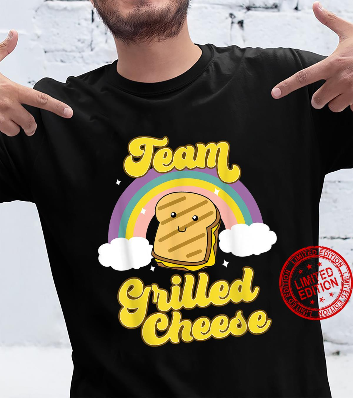 Grilled Cheese Shirt Food Team Grilled Cheese Shirt