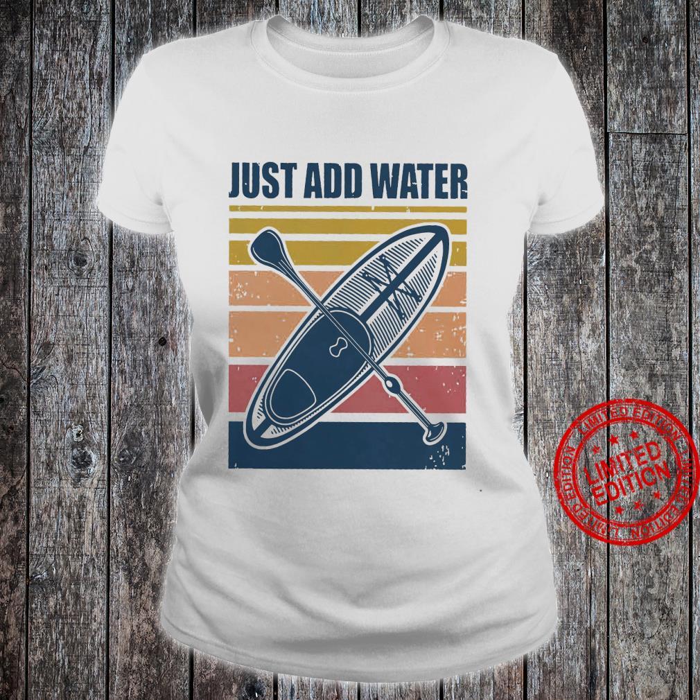 Just Dad Water Shirt ladies tee