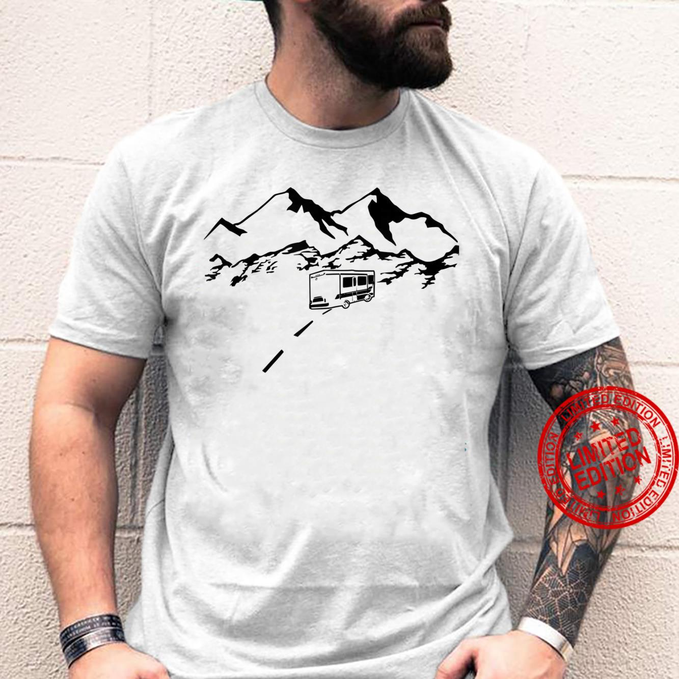 RV Driving into the Mountains Shirt