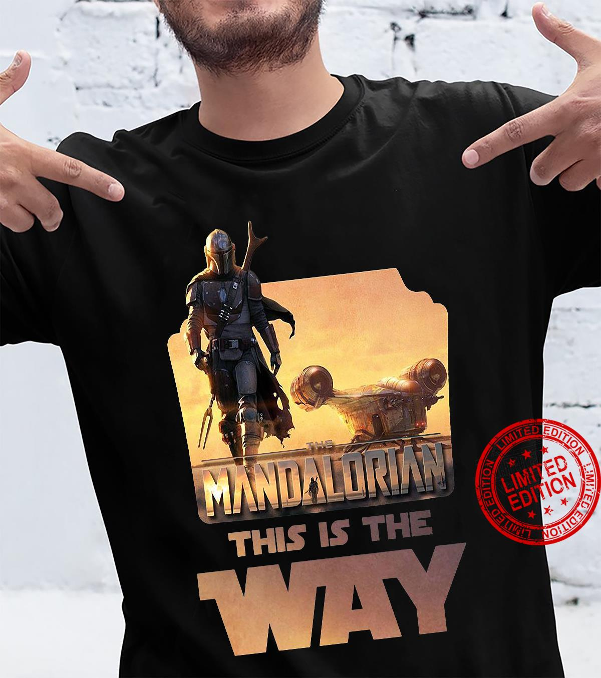 Star Wars The Mandalorian This Is The Way Men T-Shirt