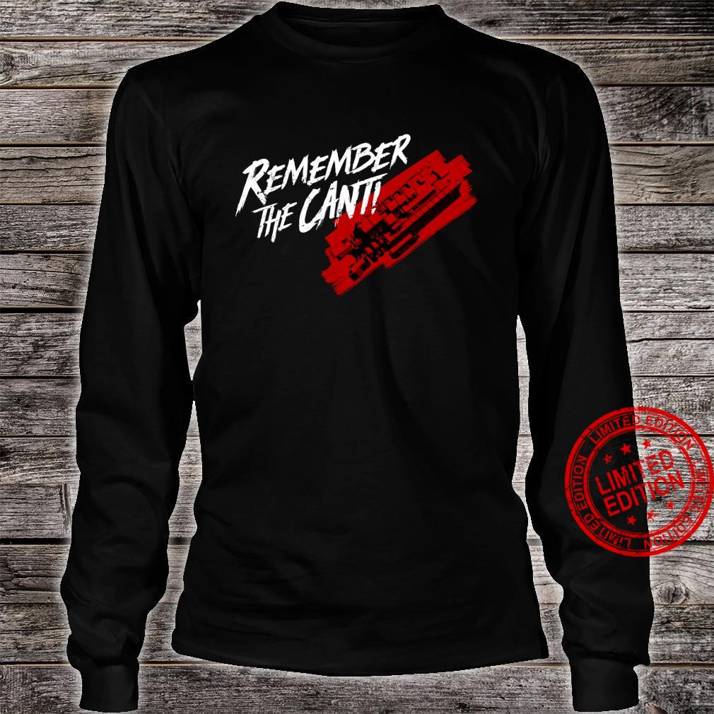 The Expanse Remember the Cant Shirt long sleeved