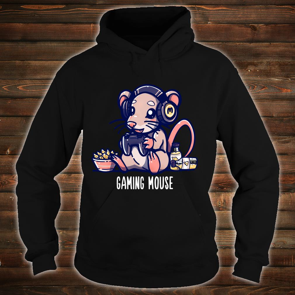 Gaming Mouse Cute Gaming Animal Pun Shirt hoodie