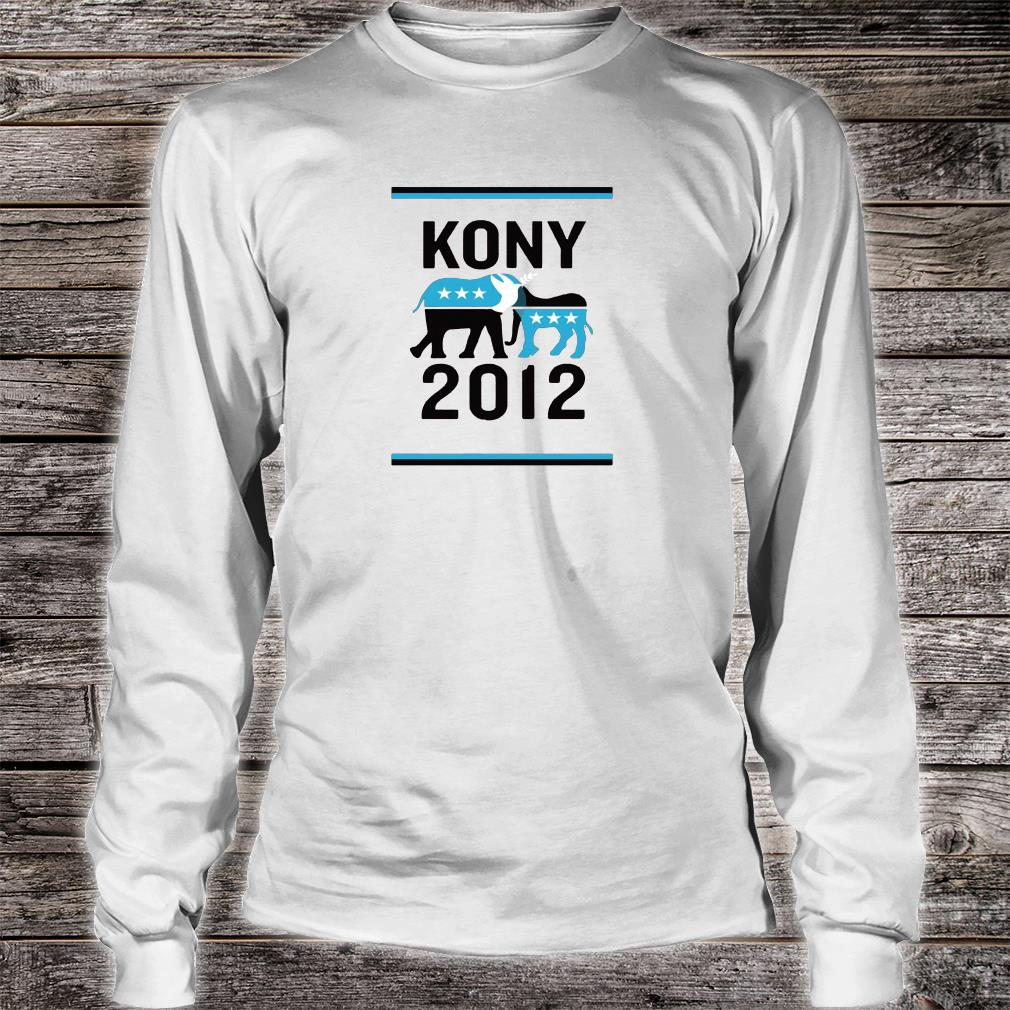 Kony 2012 shirt long sleeved