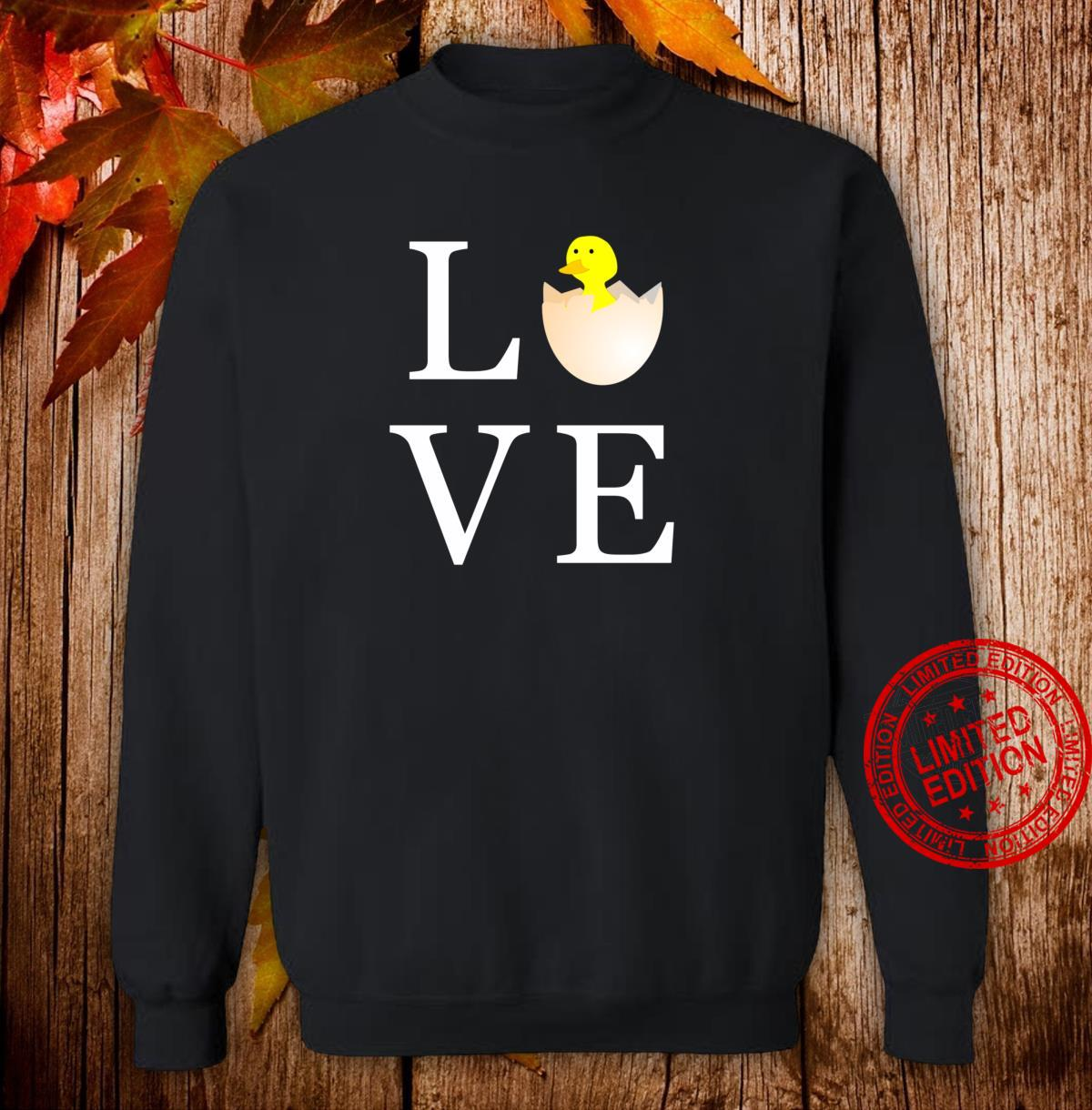Love Easter Holiday Cute Chick Shirt sweater