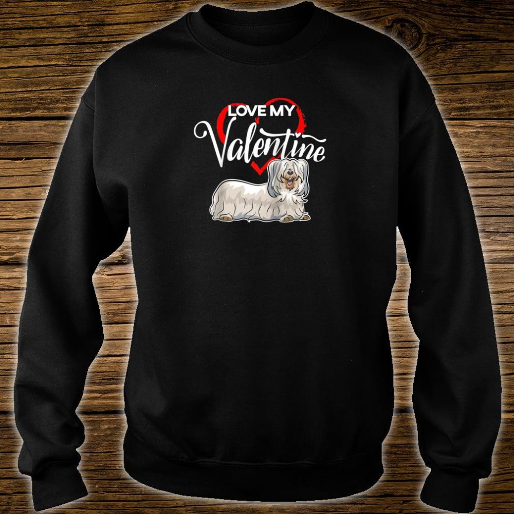 Love My Skye Terrier Dog Valentine's Day Shirt sweater