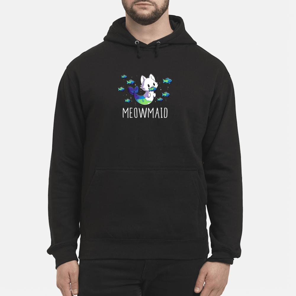 Meowmaid shirt hoodie