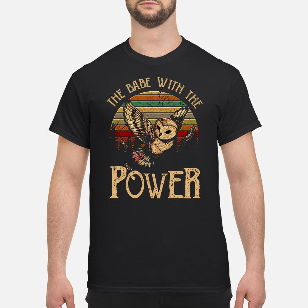 SPECIAL Owl the babe with the power shirt