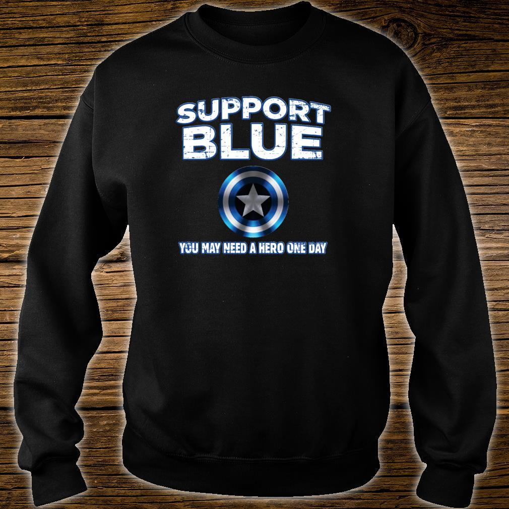 Support Police Blue Shirt sweater