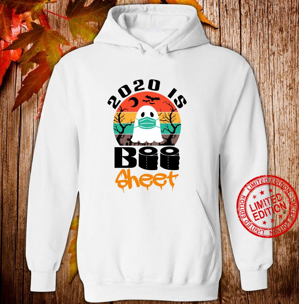 Vintage Halloween 2020 Is Boo Sheet for Family Shirt hoodie