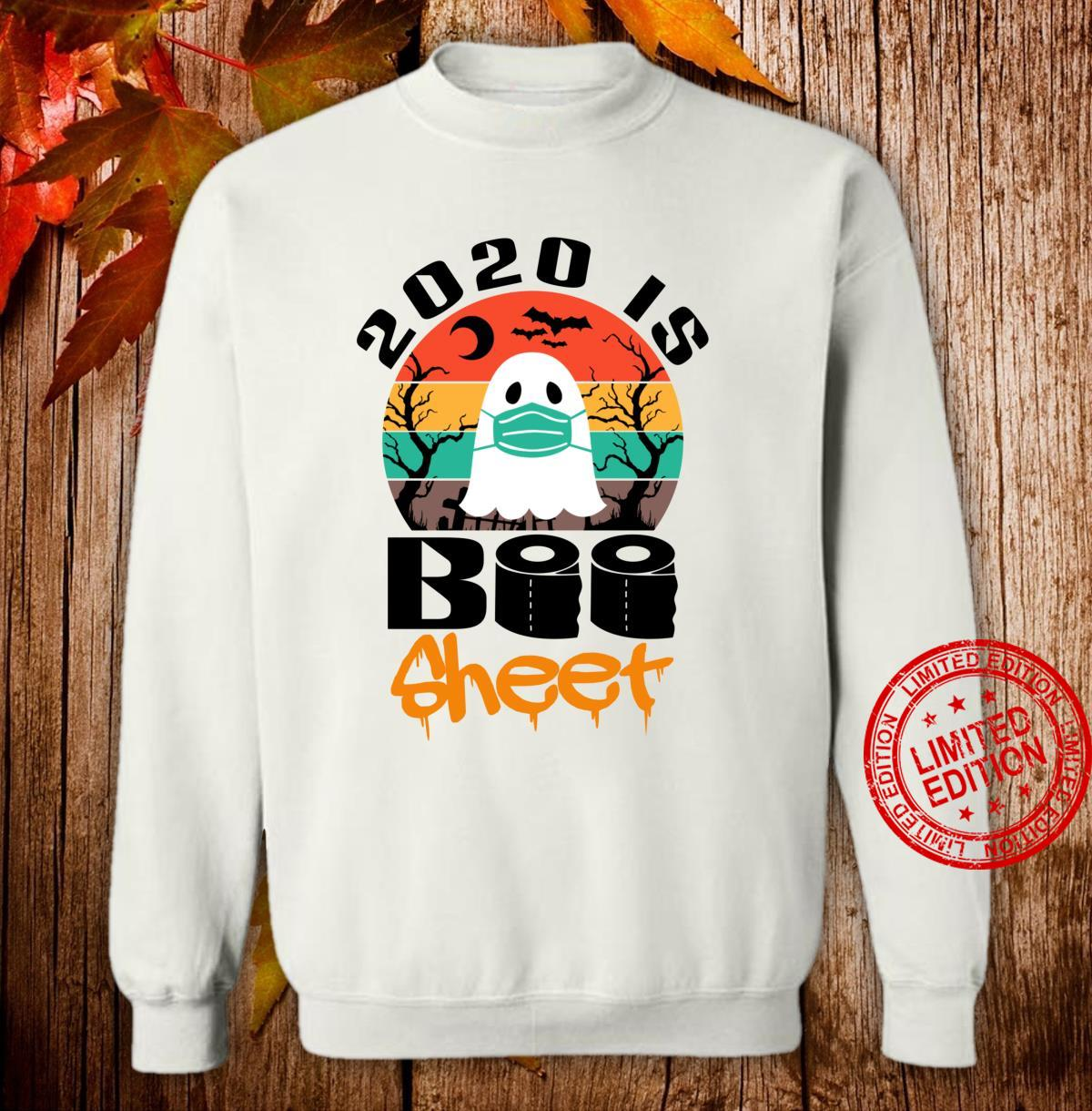 Vintage Halloween 2020 Is Boo Sheet for Family Shirt sweater