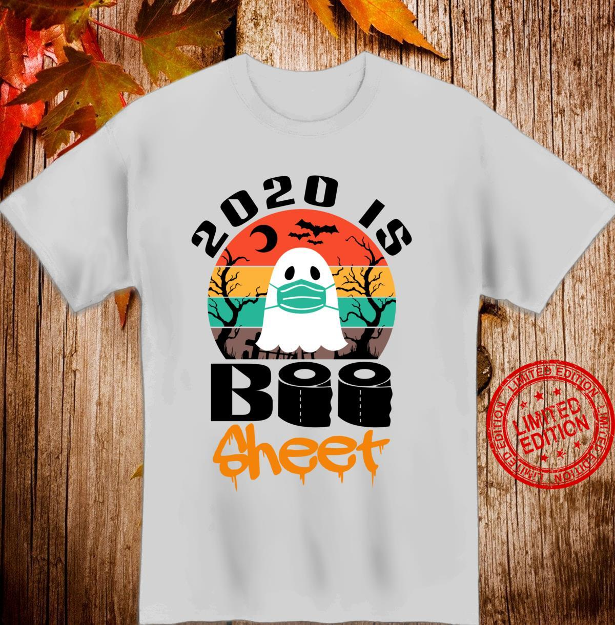 Vintage Halloween 2020 Is Boo Sheet for Family Shirt