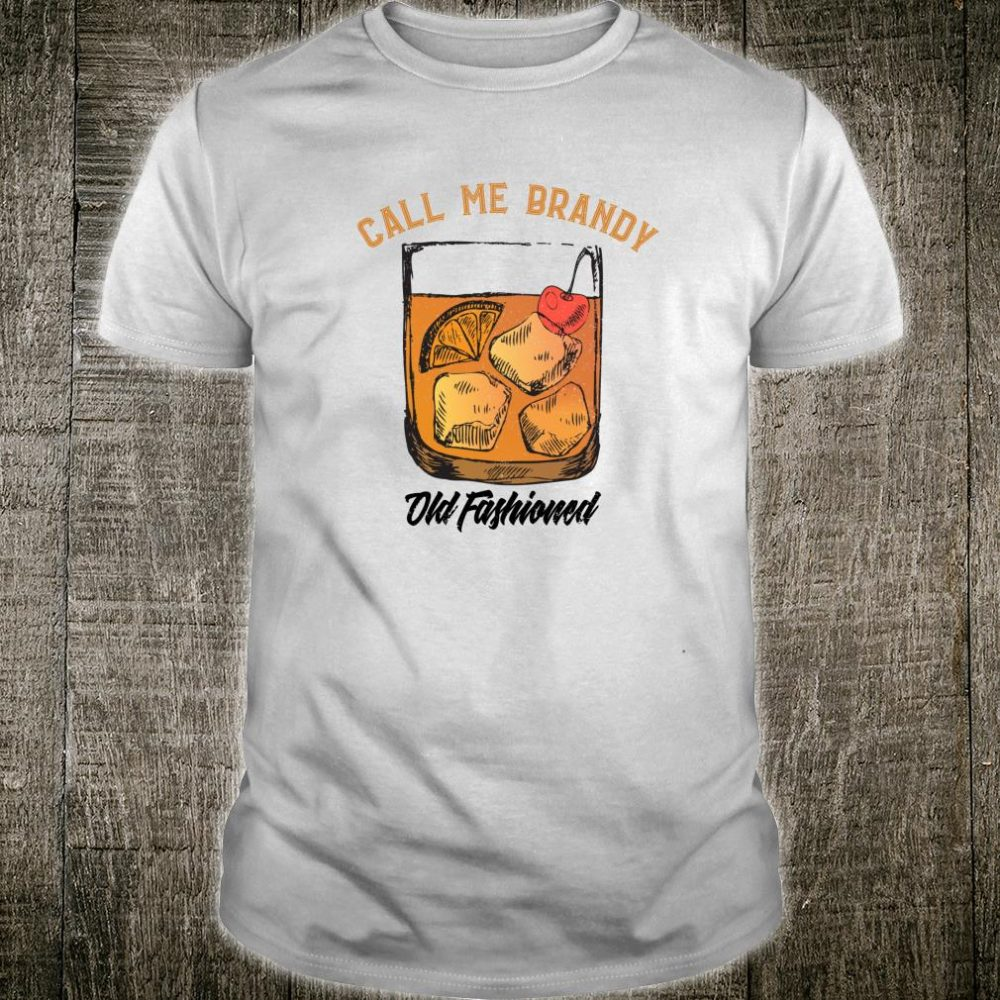 Vintage Retro Distressed Brandy Old Fashioned Wisconsin Shirt